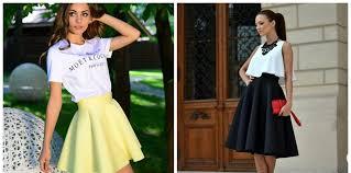 Fashion Dresses 2018 Stylish Sun Skirts For Women