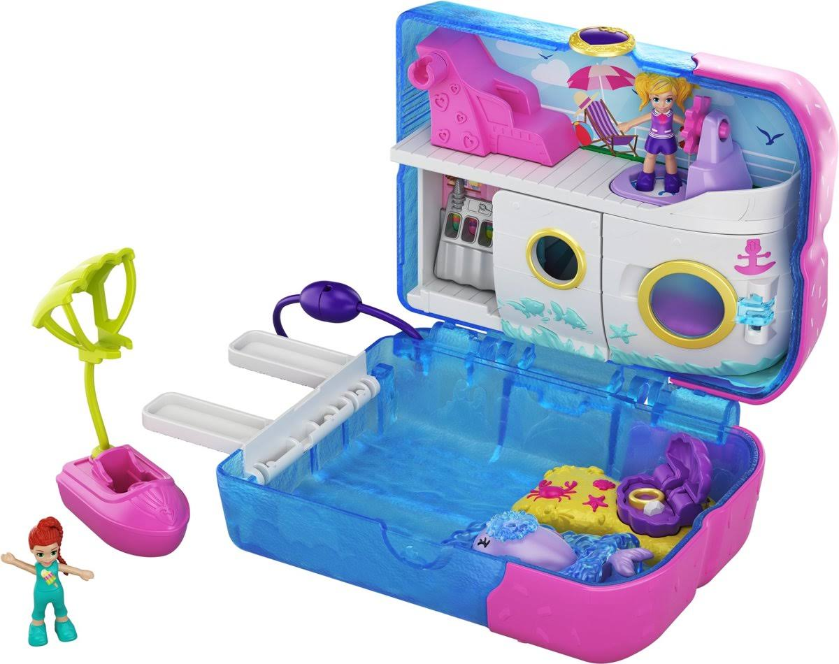 Polly Pocket Sweet Sails Cruise Ship Playset