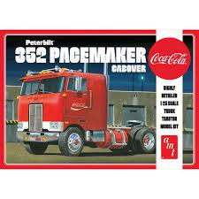 Round 2 LLC 1 25 Peterbilt 352 Pacemaker Cabover AMT1090 ...