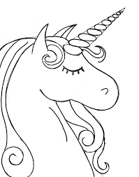 How To Paint A Rainbow Unicorn Easy Canvas Unicorn Coloring