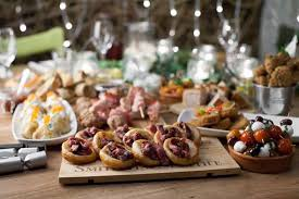 m and s canapes just add chagne the canapés for your