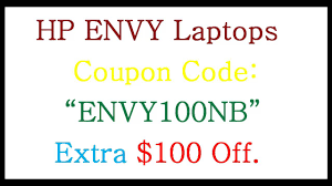 Hp Envy Laptop $100 Off Coupon Code
