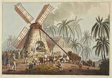 Sugar Plantation In The British Colony Of Antigua 1823