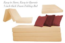 Shikibuton Trifold Foam Beds by Folding Foam Bed Natural 5inch Trifolding The Futon Shop