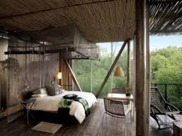 Simple Nature Bedroom Interior Design Concept