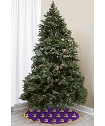 LOUISIANA STATE LSU Tigers Christmas Tree Skirt