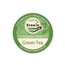 Amazon Teasia All Natural Green Tea 36 Count 20 COMPATIBLE K Cup Hot Iced Capsules Pods For Keurig Brewers Grocery Gourmet Food