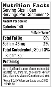 Coca Cola Caffeine Free Soda Nutrition Facts