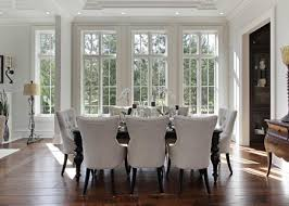 The Open Concept Living And Dining Area Lies Just Off Front Hall For All Its Stony Grandeur On Outside This House Feels Genuinely Welcoming