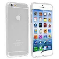 Insten Clear TPU Slim Skin Gel Rubber Cover Case For iPhone 6 6S