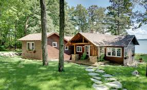 Adirondack House Plans by Small Lake Cabin Plans Exterior Rustic With Adirondack Chairs