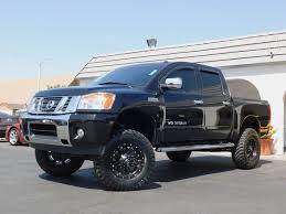 100 Truck 2013 Nissan Titan Heavy Metal Edition 4x4 Lift Kit Crew Cab