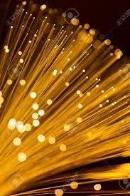 Fibre Optic Ceiling Lighting by Golden Fibre Optic Light Strand Stock Photo Picture And Royalty