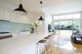 Glass Splashback White In Kitchen By Metro