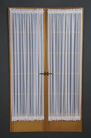 Front Door Sidelight Curtain Rods by Amazon Com D Kwitman And Son Voile Sidelight 40 Inch White