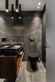 badezimmer in grau schwarzem holz bad bad badezimmer grau