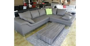canapé simili cuir gris sultan canapé d angle similicuir uni personnalisable