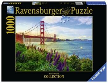 Ravensburger Golden Gate Sunrise 1000 Piece Puzzle