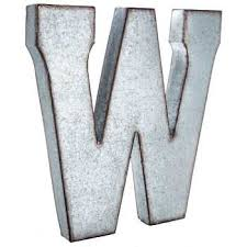 Hobby Lobby Wall Decor Letters by Galvanized Metal Letter Wall Decor W Hobby Lobby 138557