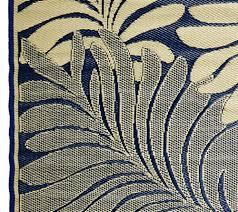 Fleur De Lis Reversible Patio Mats by Barbara King Leaf 5 U0027x 8 U0027 Reversible Outdoor Mat Page 1 U2014 Qvc Com
