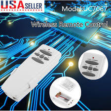 Hampton Bay Ceiling Fan Remote Control Kit by Ceiling Fan Remote Control Kit Ebay