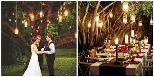 Love The Hanging Lanterns In This Evening Wedding