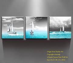 Sailboat Wheel Wall Decor by Amazon Com Canvas Prints Wall Art
