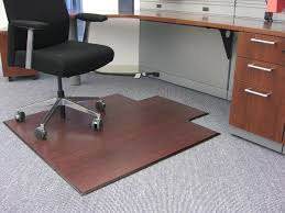 carpeted surface chair mats for floors plastic pad for office
