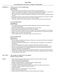 Plant Supervisor Resume Samples | Velvet Jobs Production Supervisor Resume Sample Rumes Livecareer Samples Collection Database Sales And Templates Visualcv It Souvirsenfancexyz 12 General Transcription Business Letter Complete Writing Guide 20 Data Entry Pdf Format E Top 8 Store Supervisor Resume Samples Free Summary Examples Account Warehouse Luxury 2012