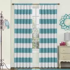 Navy And White Vertical Striped Curtains by Striped Curtains U0026 Drapes You U0027ll Love Wayfair