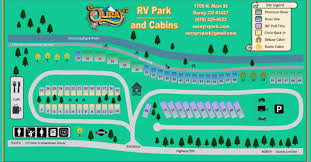 Park Map Ouray RV Cabins
