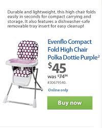 Evenflo Fold High Chair by Walmart Canada This Week U0027s Flyer New And Innovative Products