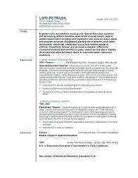 Sample Resume For Nursery Teachers In India As Well Academics Pattern