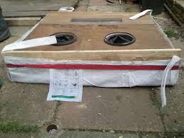 Diy Sandblast Cabinet Plans by Collapsable Folding Media Blast Cabinet Enclosure 7 Steps