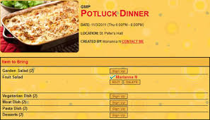 Halloween Potluck Signup Sheet by Signupgenius Helping You Create Group Sign Up Lists Marianna