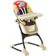 Cosco Flat Fold High Chair by Decorating Graco Wooden High Chair Fisher Price Space Saver