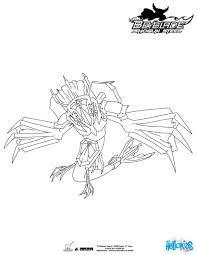 Guardian Leviathan Coloring Page More Beyblade Sheets On Hellokids
