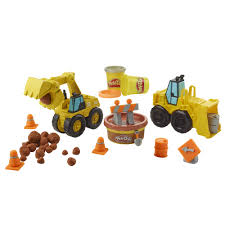100 Toy Construction Trucks PlayDoh Wheels Excavator Loader With Non