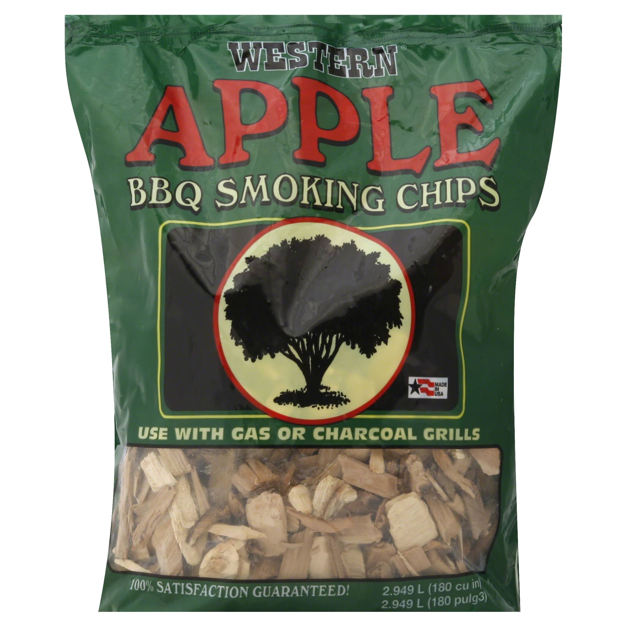 Western BBQ Smoking Chips - Apple, 2lbs