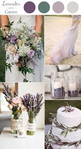 Wedding Colors 10 Color Combination Ideas To Love Lavender And Green Chic Rustic 2016 Trends