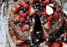 Delicious Chocolate Strawberry Cake Recipe