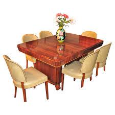 1940s Art Deco Mahogany Dining Suite | Dining Room | Art ...