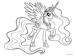 Baby My Little Pony Coloring Pages Ponies Free Printable