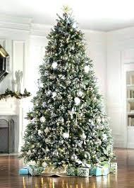 Slim Christmas Tree Walmart Fir Lit Artificial 9 Ft Home Trees Pre