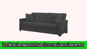 baja convertacouch and sofa bed black youtube
