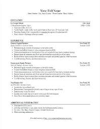Investment Banking Analyst Resume Sample Tailor Your Template Example