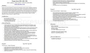 Nursing Resume Summary From New Graduate Nurse Examples Awesome Good Resumes