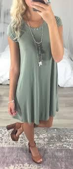 Summer Fashion Pastel Green Dress