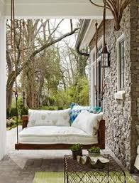 Searsca Patio Swing by Small Outdoor Sitting Area Small Patio Townhome Patio Patio