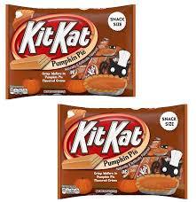 Pumpkin Spice Hershey Kisses Walmart by Amazon Com Kitkat Pumpkin Pie Snack Size Crisp Wafers 9 8oz